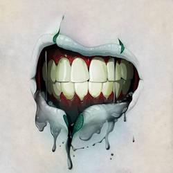 Zombie Lips by stuntkid