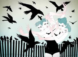 The Birds by stuntkid