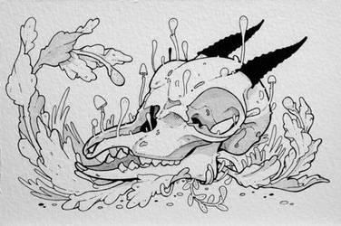 Dik Dik Skull by stuntkid