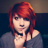 Redhead:)) by thehereticanthem