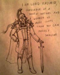 LORD KASIMIR sketch by UnoSombrero