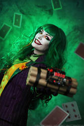 Female Joker cosplay 10 by HydraEvil