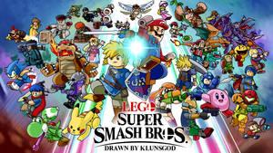 LEGO Super Smash Bros Ultimate by klunsgod