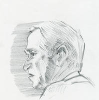 George Bush by amherman