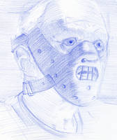 Hannibal Lecter by amherman