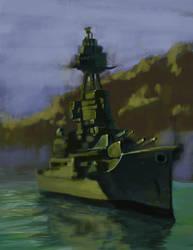 battleship1 by amherman