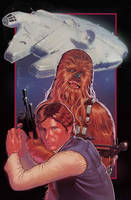 Han And Chewie by amherman
