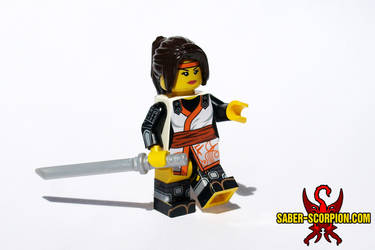 Taki (Soul Calibur) LEGO Minifig by Saber-Scorpion