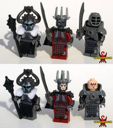 The Wild Hunter (Witcher 3) Custom LEGO Minifigs by Saber-Scorpion