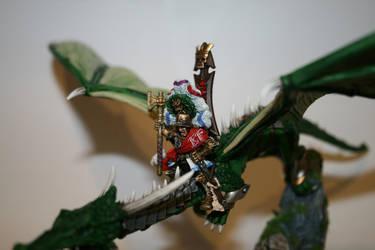 Karl Franz on Dragon 12 by williamwolfes