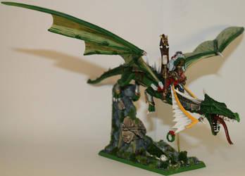Karl Franz on Dragon - Final02 by williamwolfes