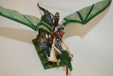 Karl Franz on Dragon - Final10 by williamwolfes