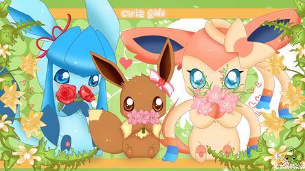 Cute Girls by jirachicute28