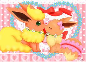 haru and ribbon 2 by jirachicute28