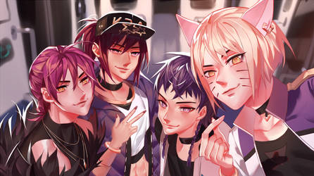 KDA selfie by LengYou