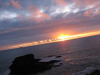 Cornwall Sunset by ThatGuyRob