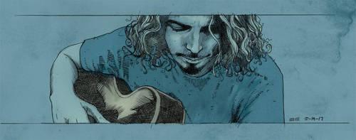 Chris Cornell by ezy-e
