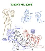 Sketch- DeathLess by liliy