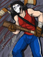 TMNT- Casey Jones by liliy