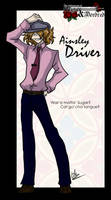 Driver Strikes a Pose by liliy