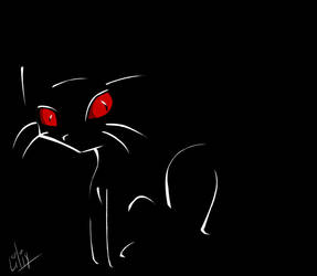 Scary Kitty by liliy