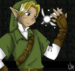 Link and Navi by liliy