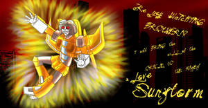 TF - Sunstorm Wants To Share by liliy