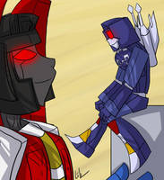 TF - Rumble n' Starscream Cute by liliy