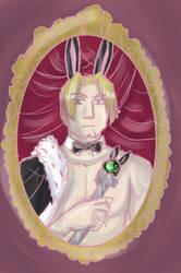 Tamuran- Johlan Royal Portrait by liliy