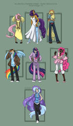 MLP - Human Versions Go! by liliy