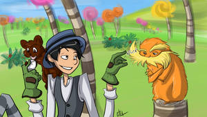 Lorax - Once-ler Teases Lorax by liliy