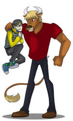 MH - Jackson and Manny by liliy