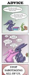 Comic - Advice by liliy