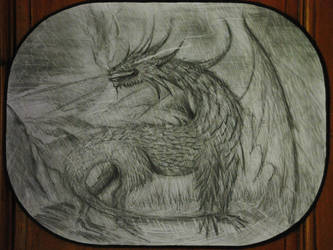 A Dragon in the Storm by Pyriceti