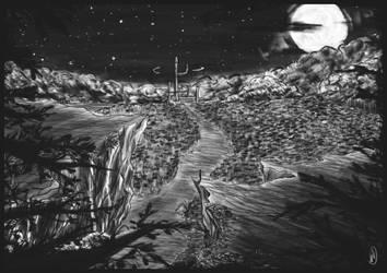 Fantastic landscape by Pyriceti
