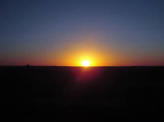 Dawn in the route by martatigerwoman