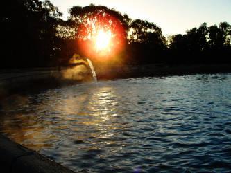 Hot Water by martatigerwoman