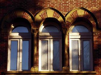 3 windows by martatigerwoman