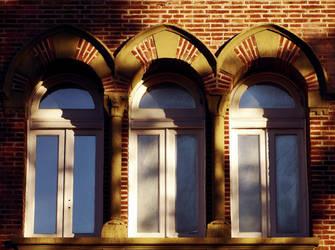 windows castle by martatigerwoman