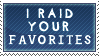 Favorites Raider Stamp by In-The-Machine