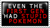 First Generation Pokemon Stamp by In-The-Machine