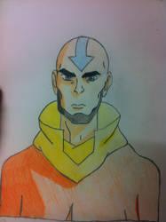 Older Aang by xxxchannyxxx