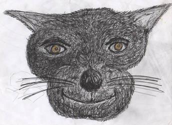 Golden Eye The Cat by whisperycat