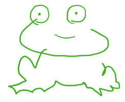 McCreepy the Frog by shebid