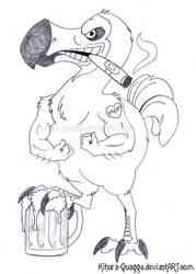 Dodo Tattoo Design by Kihara-Quagga