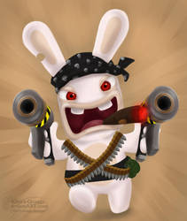 Rabbit Choas by Kihara-Quagga