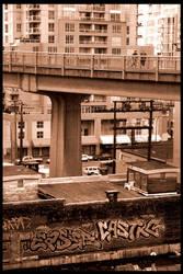 Granville Street Bridge I by Zenith-XO