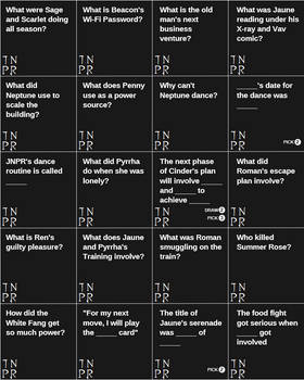 Image of: Custom Deviantart Rwby Cards Against Humanity Season Questions By Pzykosiz On Deviantart