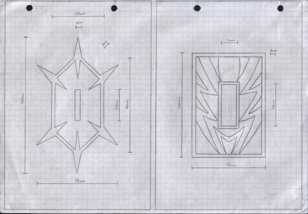 Zanpakuto Tsuba Designs: Pt 13 by chioky