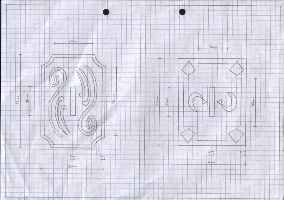 Zanpakuto Tsuba Designs: Pt 17 by chioky